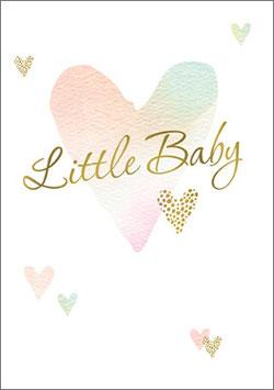 Umschlagkarte Little Baby