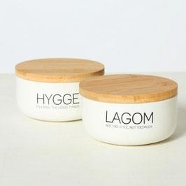 Duftkerze Lagom und Hygge