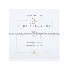 Armband Birthday girl Chrystal
