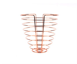 Fruit Basket Linea Kupfer