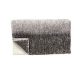 Decke grau/weiß/schwarz