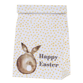 Paper Bag White Easterbunny
