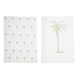 Küchenhandtuch Palmen