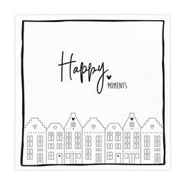 Servietten Happy Moments