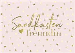 Postkarte Sandkastenfreundin