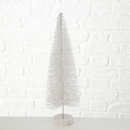 Glitzerbaum weiß 30cm