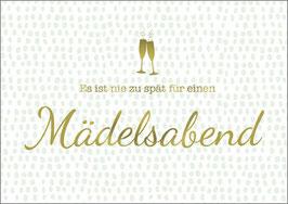 Postkarte Mädelsabend