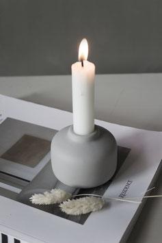 Kerzenständer Guntorp grau
