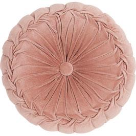 Kissen rund rosa