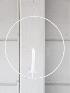 Gullabo Kerzenständer zum Aufhängen weiß