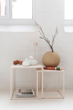 Vase Ball beige L