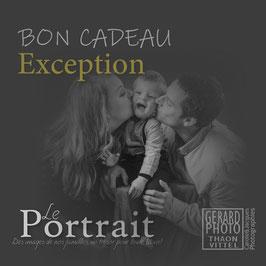 """Bon Cadeau Famille """"Exception"""""""