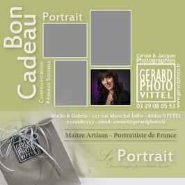 Bon Cadeau Portrait Communication-Réseaux Sociaux