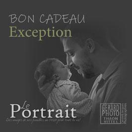 """Bon Cadeau Nouveau-Né & Bébé """"Exception"""""""