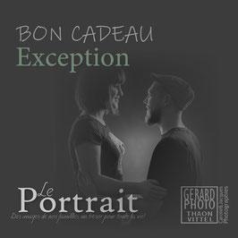 """Bon Cadeau Couple & Adulte """"Exception"""""""