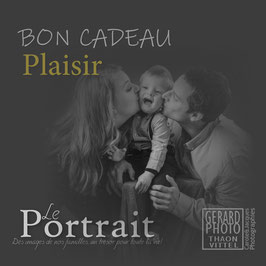 "Bon Cadeau Famille ""Plaisir"""