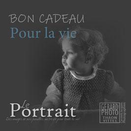 """Bon Cadeau Enfant """"Pour la vie!"""""""