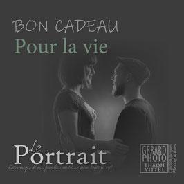 """Bon Cadeau Couple & Adulte """"Pour la vie!"""""""