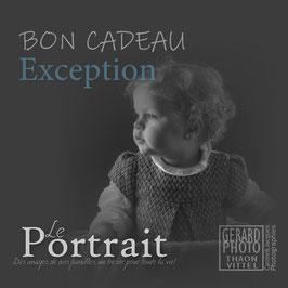 """Bon Cadeau Enfant """"Exception"""""""