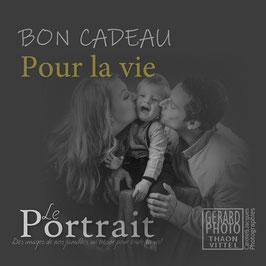 """Bon Cadeau Famille """"Pour la vie!"""""""