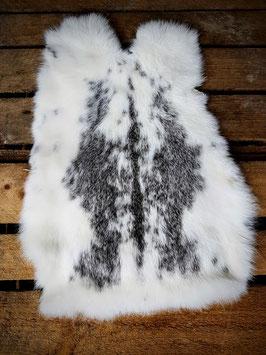Konijnenvacht bont (grijs)