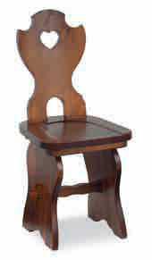 SEDIA FRATINO IN PINO  S/106, sedie tirolese