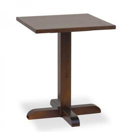 Tavolo in pino massiccio disponibile in  misure 60x60x3 h.75 - BB0S H.75 CM