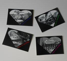 """Postkarte """"Bags"""""""