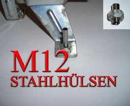 STAHLHÜLSEN M12 (100 Stück)