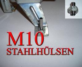 STAHLHÜLSEN M10 (100 Stück)