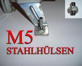 STAHLHÜLSEN M5 (100 Stück)