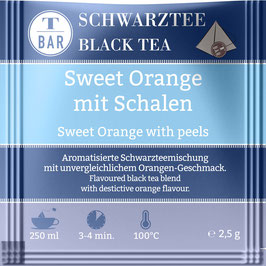 Beuteltee Sweet Orange mit Schalen