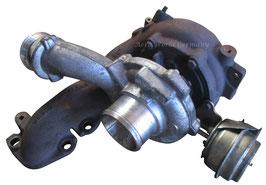 Turbolader Garrett für einen Diesel Saab 9.3 YS3F