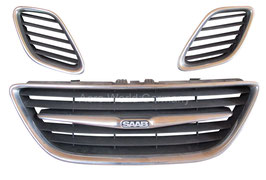 Grilleinsätze 3 fach Bj. 2003 - 2008 Saab 9.3 YS3F