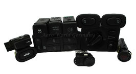 Innenschalterset komplett schwarz Bj. 2006 - 2010 Saab 9.5 YS3E
