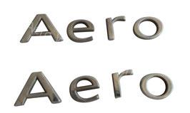 """Schriftzug """"AERO"""" für Kotflügel"""