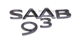 """Schriftzug """"SAAB 9.3"""""""