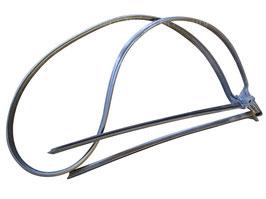 Verdeckkastendichtung inkl. Abschlussleisten li./ re. Cabriolet Saab YS3F