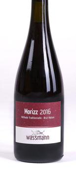 WASSMANN Morizz 2016.  Rotsekt.  Méthod Traditionnelle.          Brut Nature.                                    (Zero dosage)