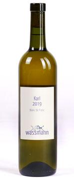 WASSMANN Karl 2019. Blanc de Franc (Weisswein aus Cabernet Franc). Natural wine.