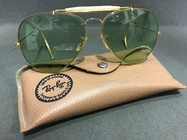 Vintage Ray-Ban Changeable Green Outdoorsman aviator