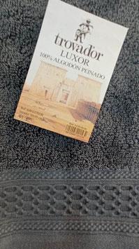 Toallas Trovador Luxor 100% algodón Peinado 600grs/m. Color 06 Gris. 3 medidas disponibles.