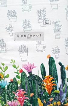 Sabanas Manterol 150 cm. alta calidad 100% algodón . Cactus