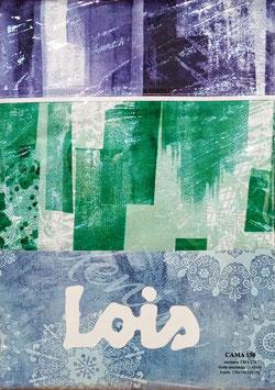 Juego de sabanas Lois 150 cm. color Varios