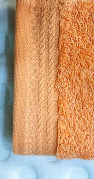 Toallas 100% algodón Peinado 600grs/m. Color Salmón. 4 medidas disponibles.
