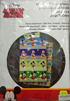 Sabanas Disney Mickey 90cm. Colores varios