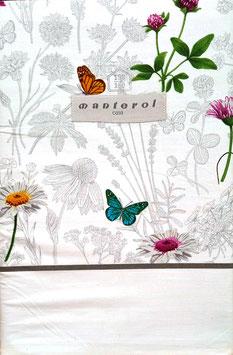 Sabanas Manterol 150 cm. alta calidad 100% algodón . Mariposas