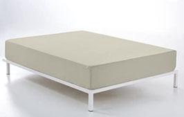 Sabanas ajustable algodón 100% piedra 138