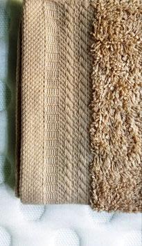 Toallas 100% algodón Peinado 600grs/m. Color Vison. 4 medidas disponibles.