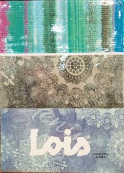 Sabanas Lois 90 cm. color gris
